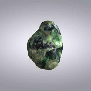 橄榄绿玻璃陨石